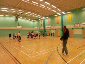 Basketball Olympian Drew Sullivan visits South Oxfordshire