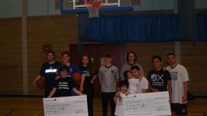Fun family basketball tournament raises over £2500 funds