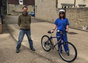 Bikes for Key Workers – one month in