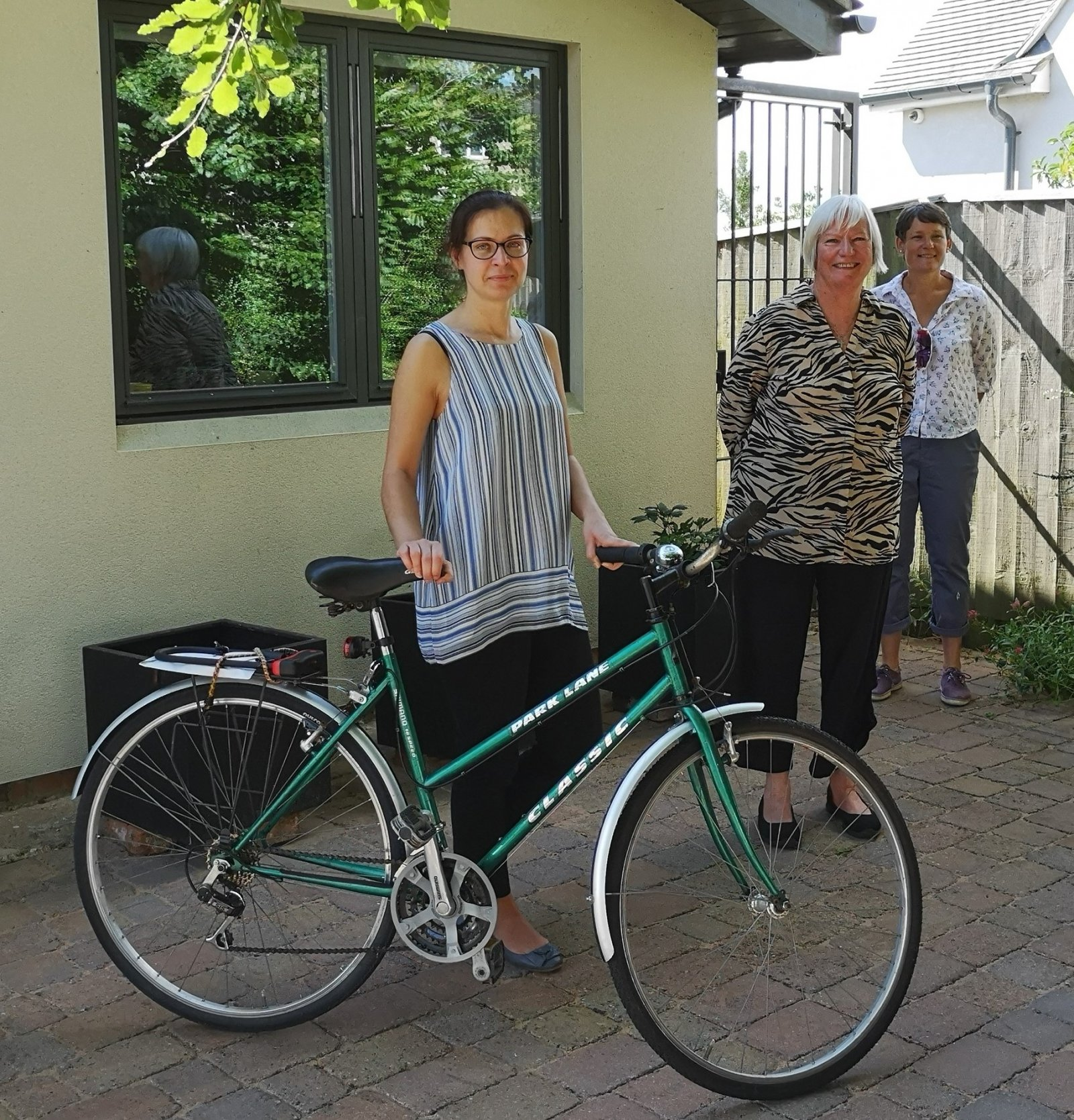 Funding boost from Oxfordshire Community Foundation as 200th bike milestone is celebrated