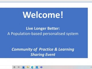 Live Longer Better event resources